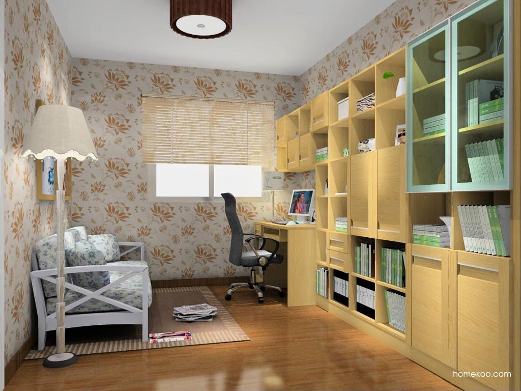丹麦本色书房家具C14960