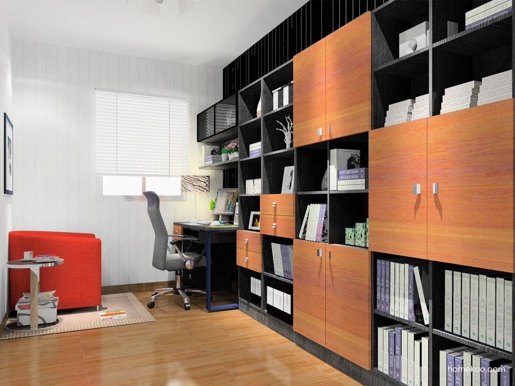 德国森林书房家具C14961