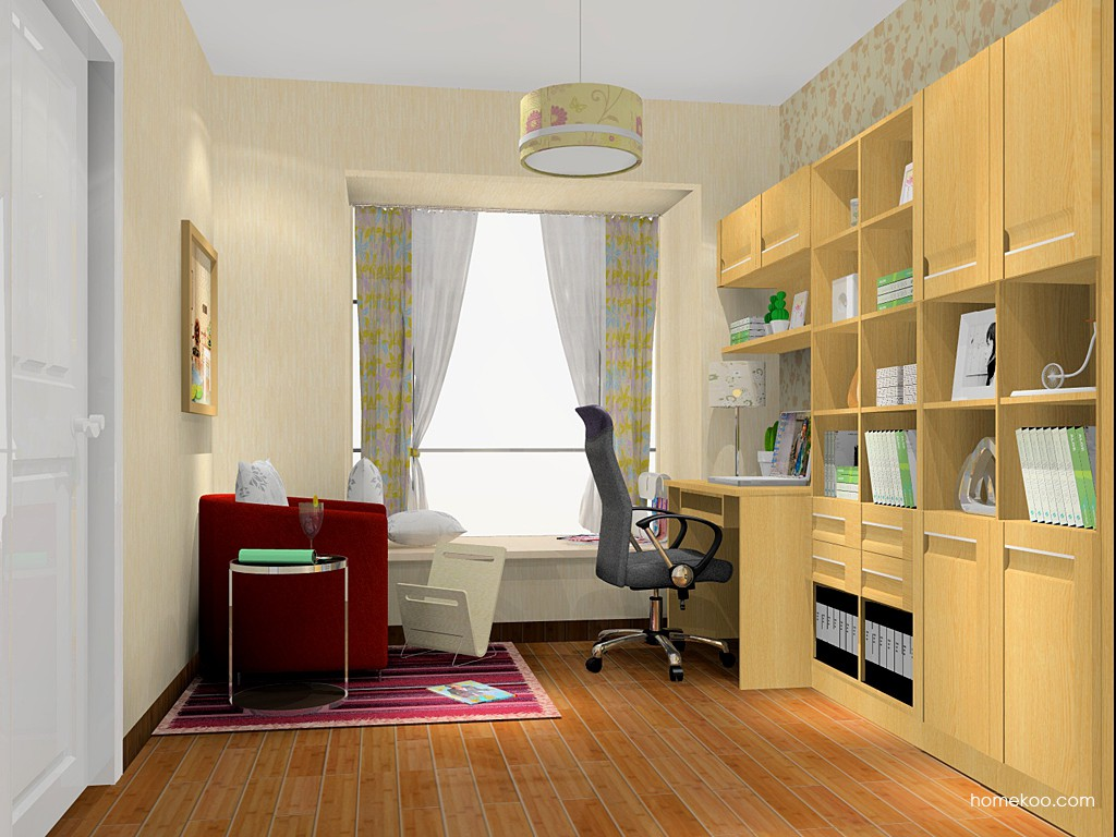 丹麦本色书房家具C14972