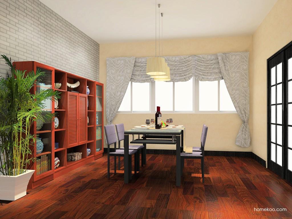 新中式主义餐厅家具E11164