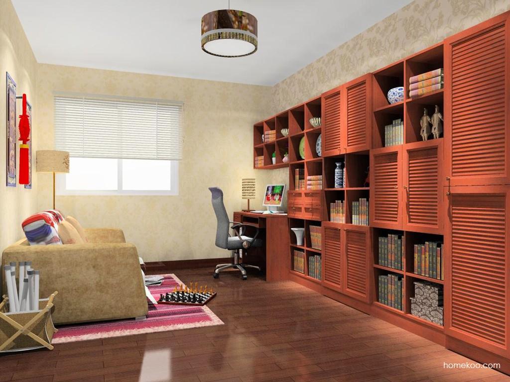 新中式主义书房家具C14977