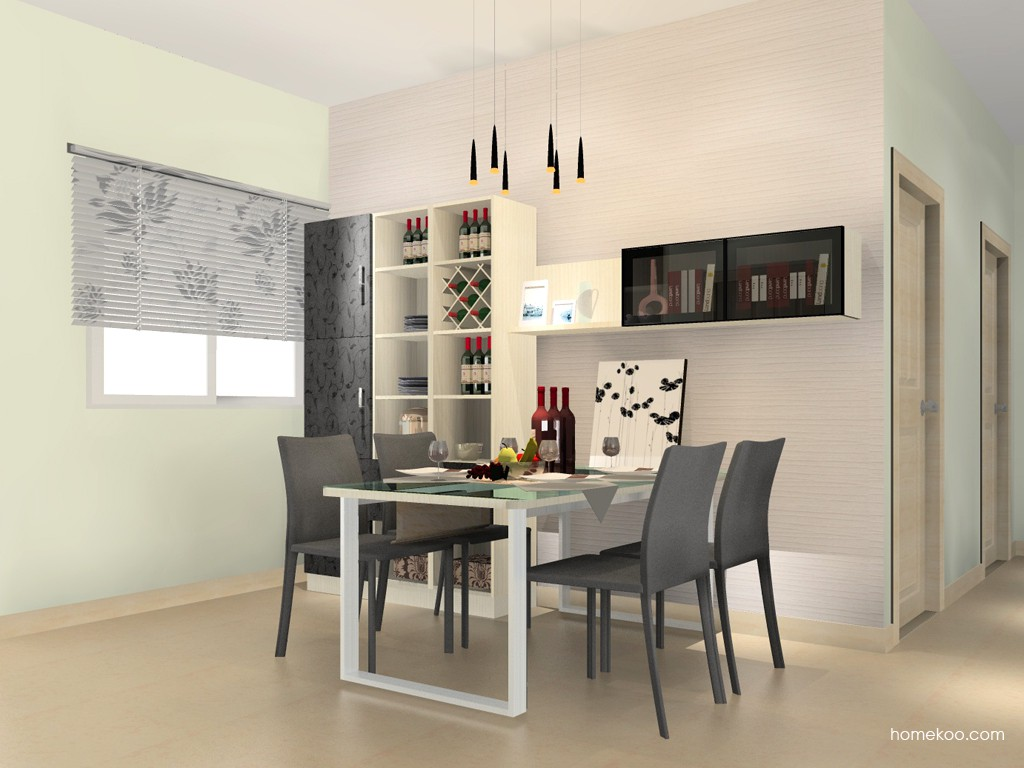 米兰剪影餐厅家具E11168