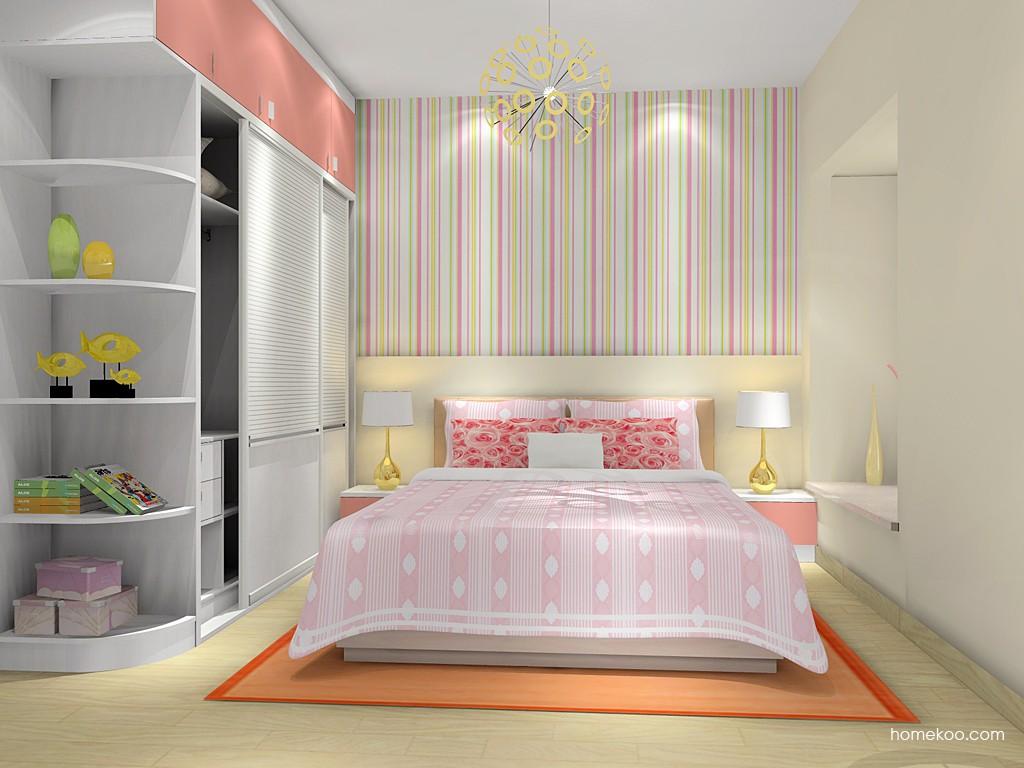 浪漫主义卧房家具A14921