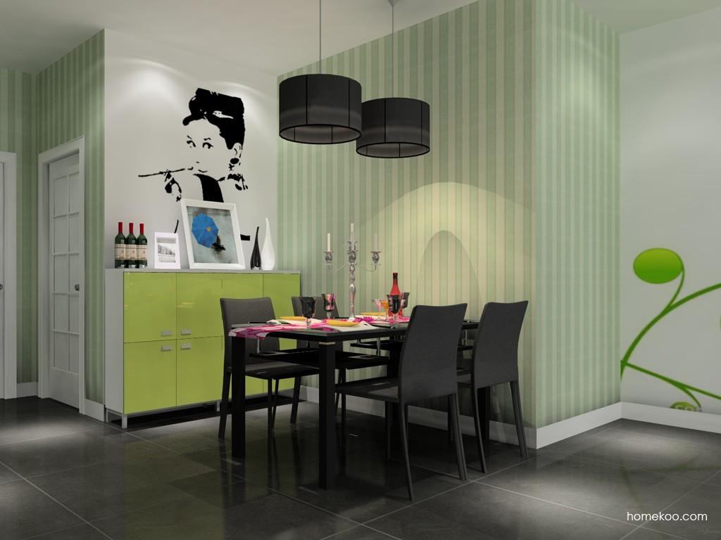 浪漫主义餐厅家具E11169