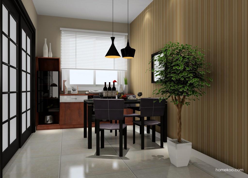 挪威月色餐厅家具E11170