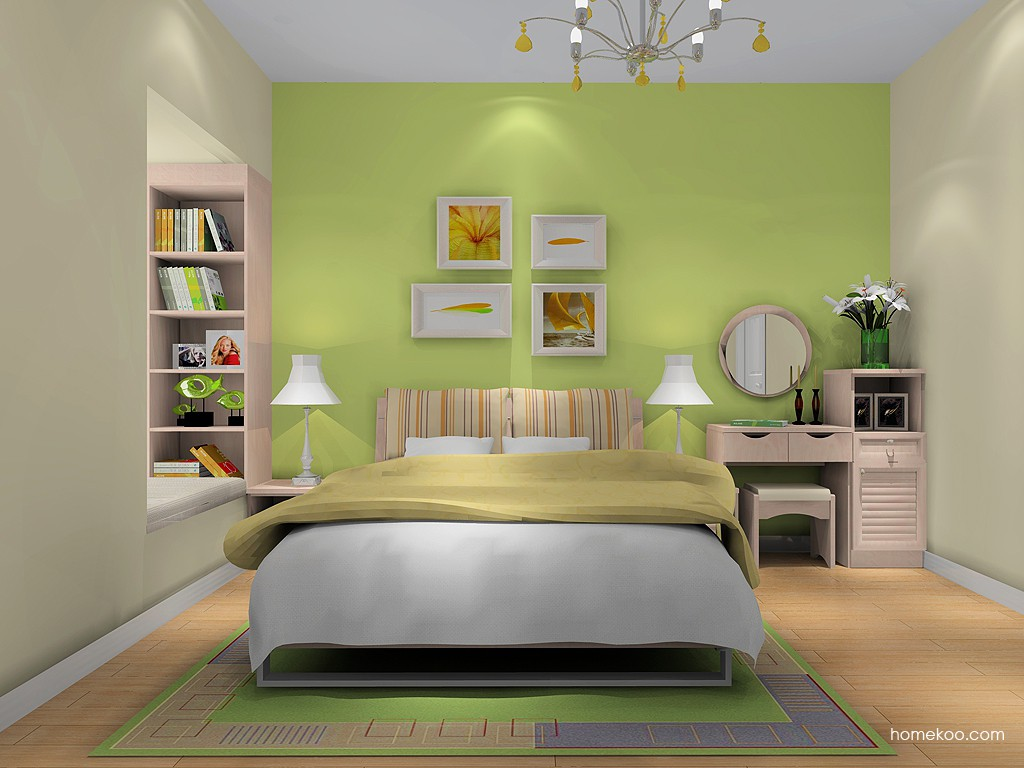 北欧阳光卧房家具A14935