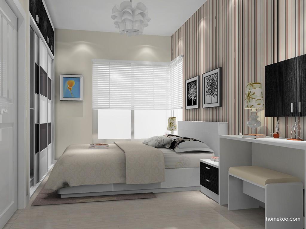 简约主义卧房家具A14965