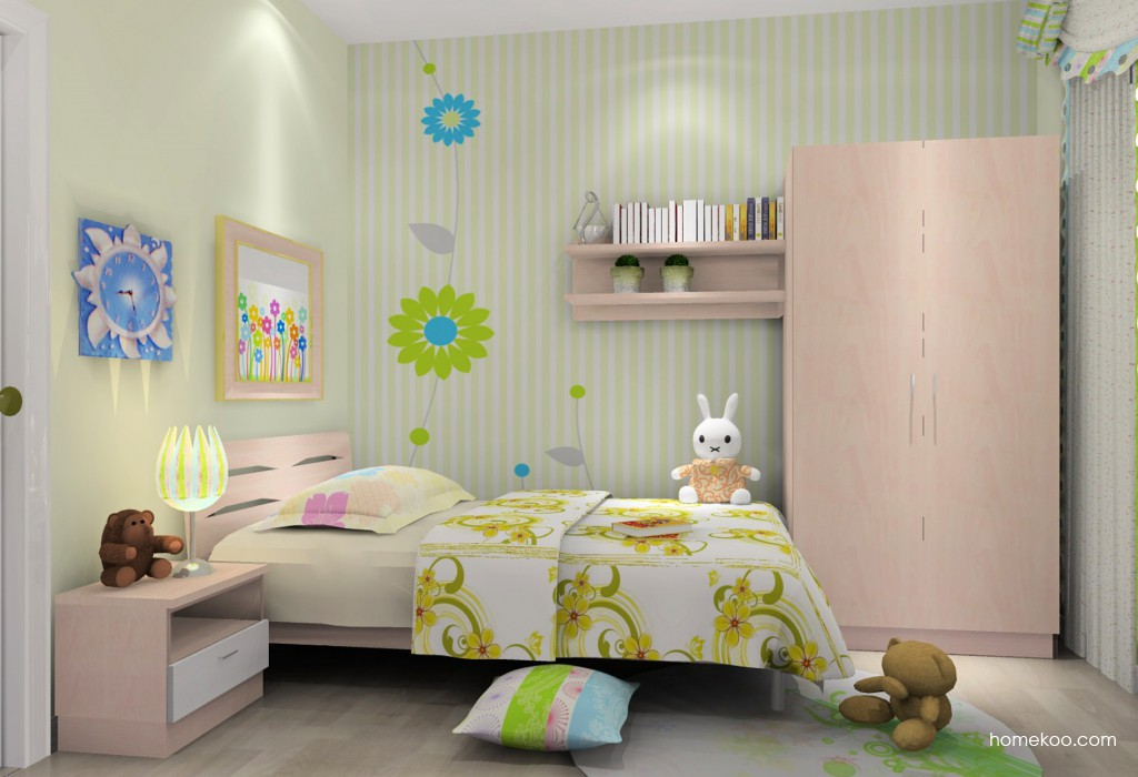 女孩的梦青少年房B12739