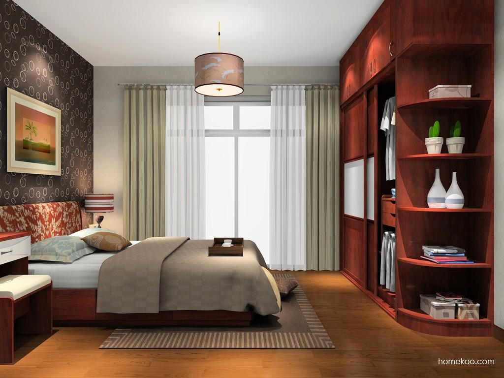 挪威月色卧房家具A14968