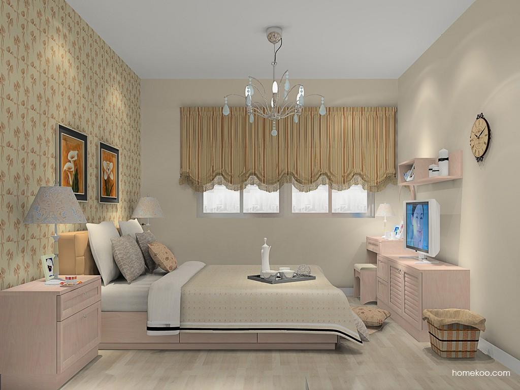 北欧阳光卧房家具A14982