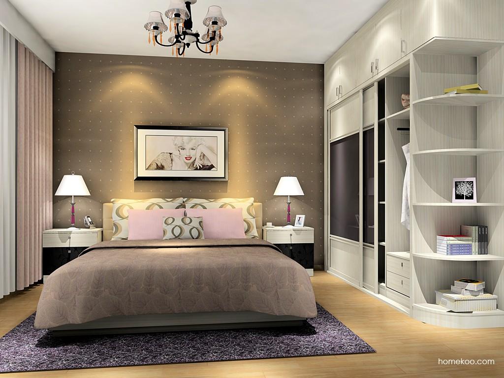 米兰剪影卧房家具A14997