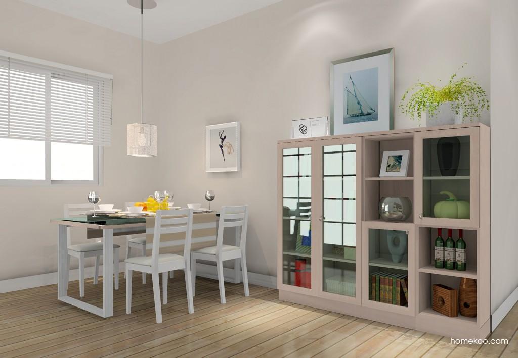 北欧阳光餐厅家具E11180