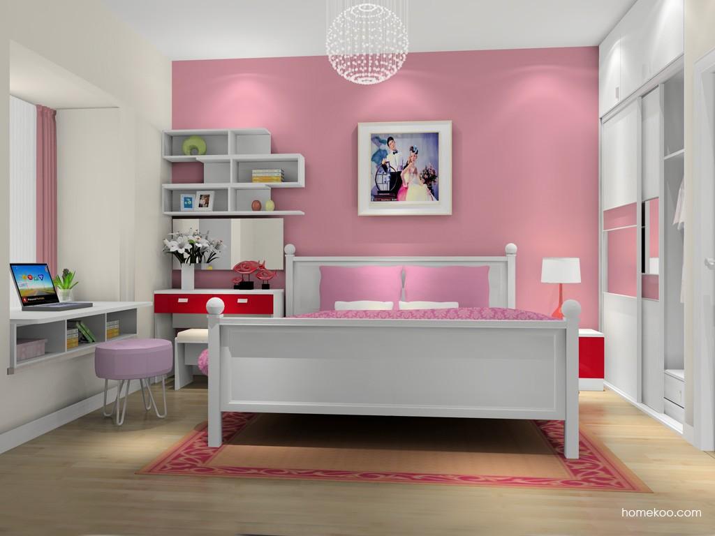 浪漫主义卧房家具A15039