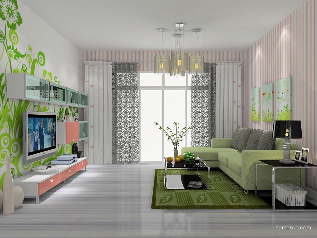 浪漫主义客厅家具D14203