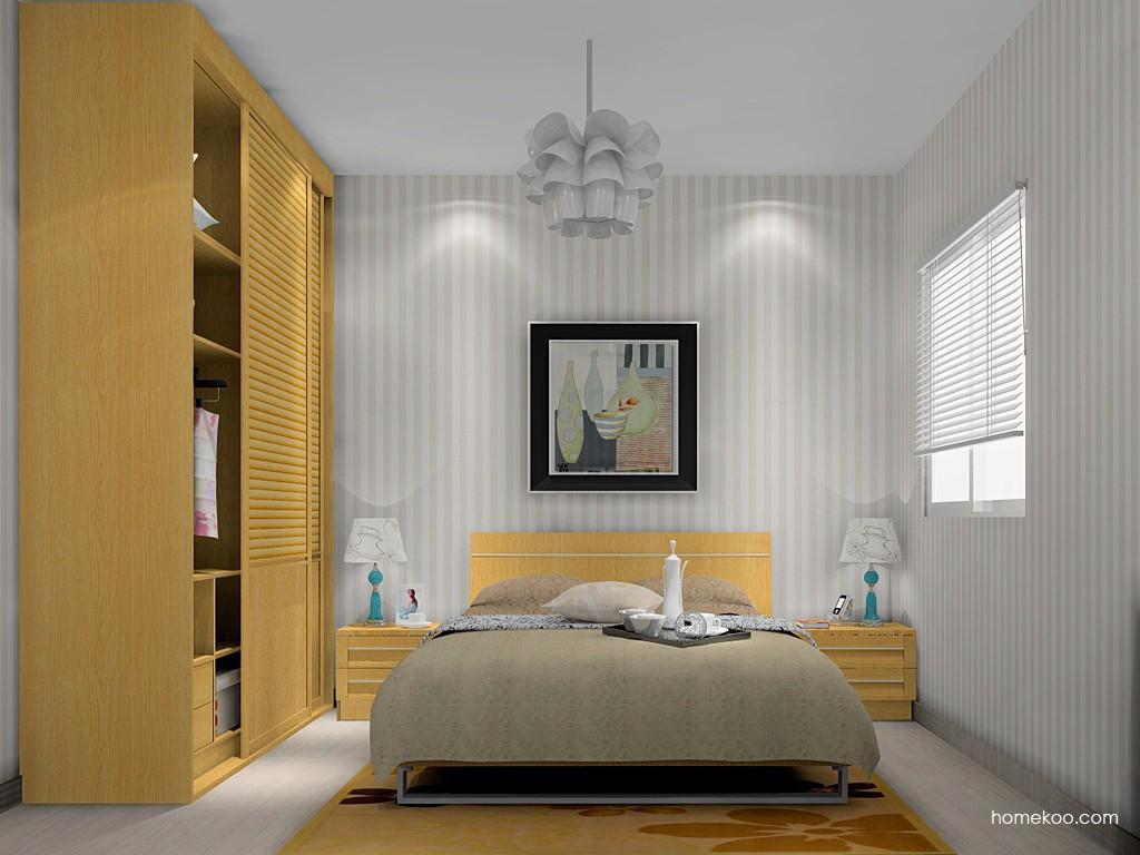 丹麦本色卧房家具A15060