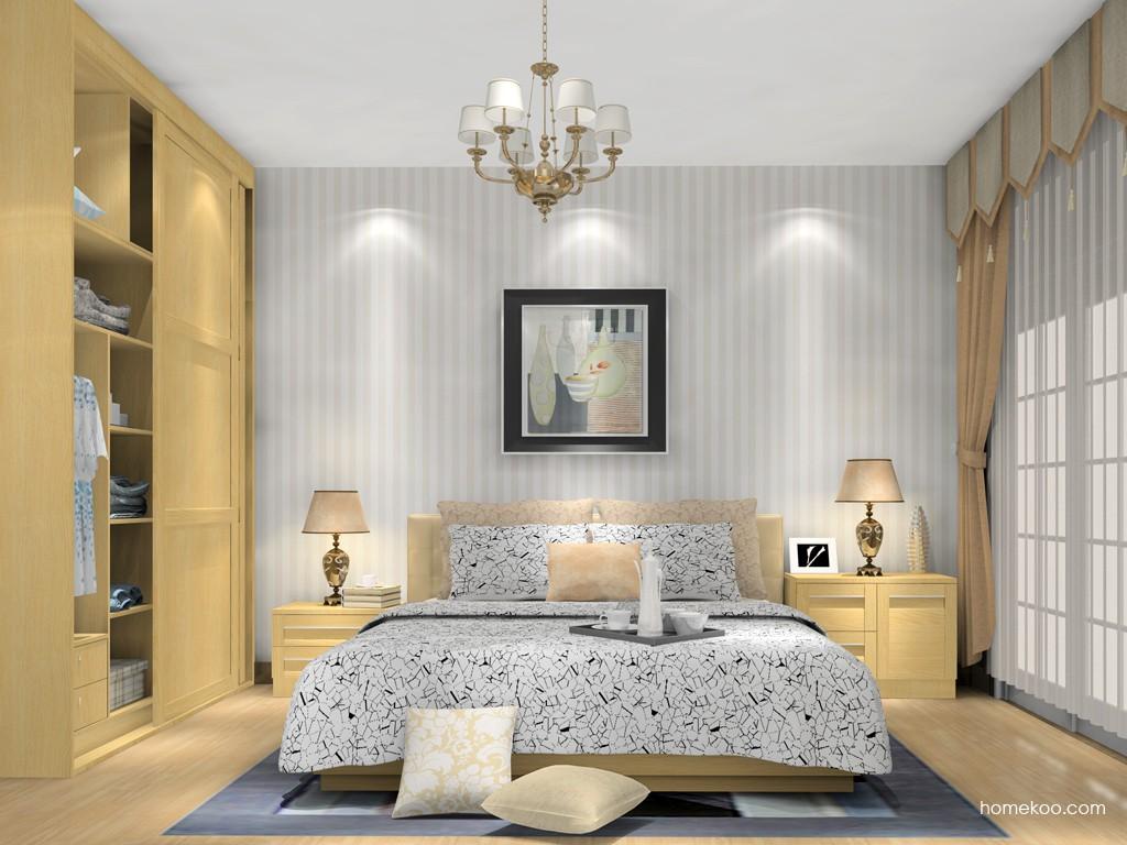 丹麦本色卧房家具A15063