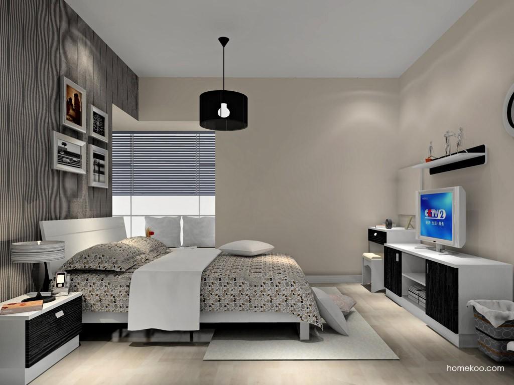 简约主义卧房家具A15075