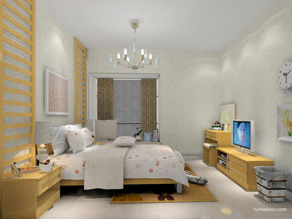 丹麦本色卧房家具A15112