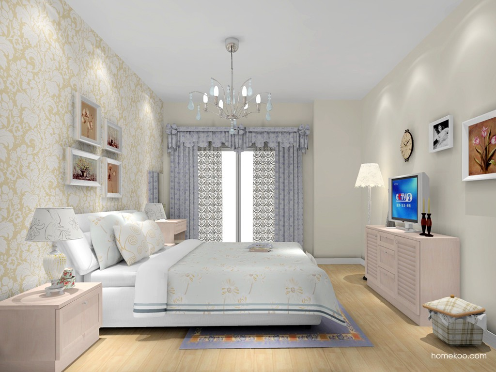 北欧阳光卧房家具A15114