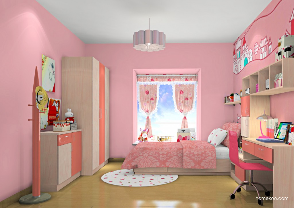 女孩的梦青少年房B12863
