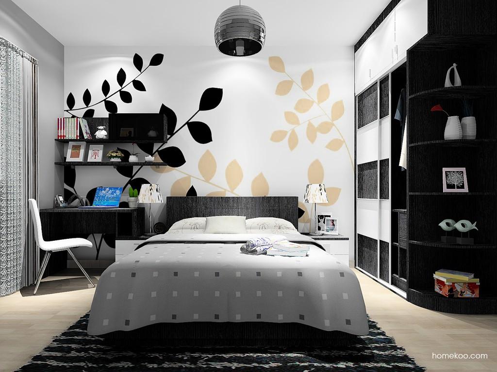 简约主义卧房家具A15137