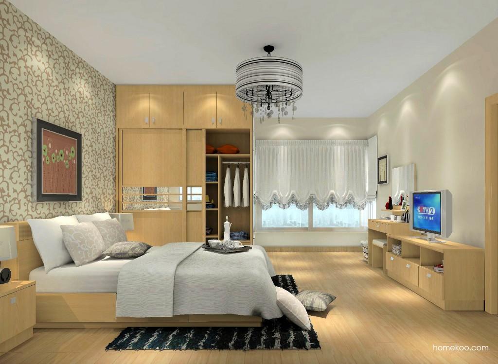 新实用主义卧房家具A15138