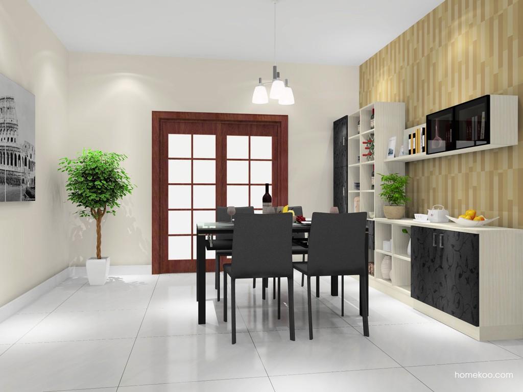 米兰剪影餐厅家具E11209