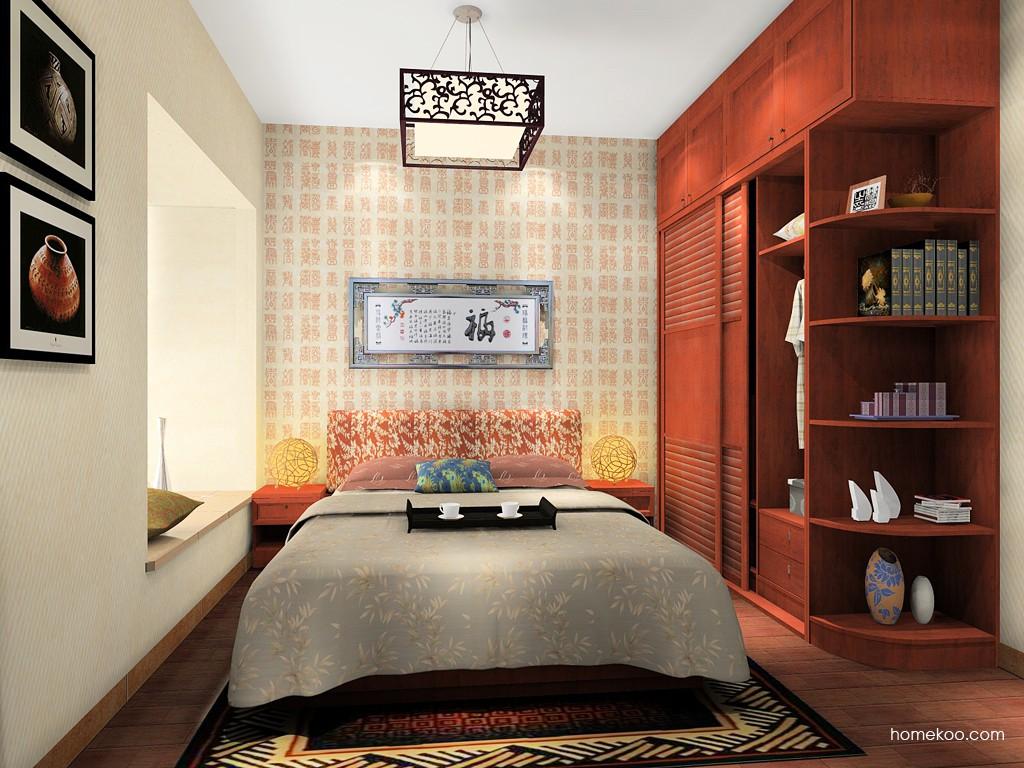 新中式主义卧房家具A15168