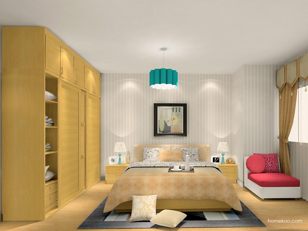 丹麦本色卧房家具A15186
