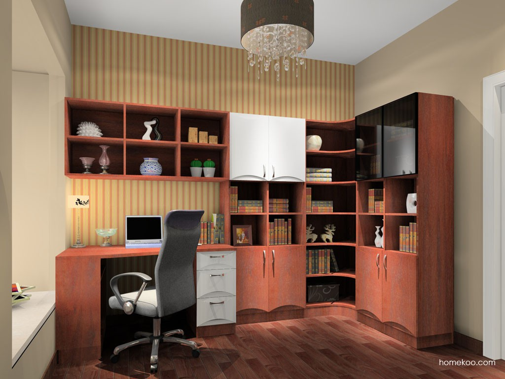 挪威月色书房家具C15135
