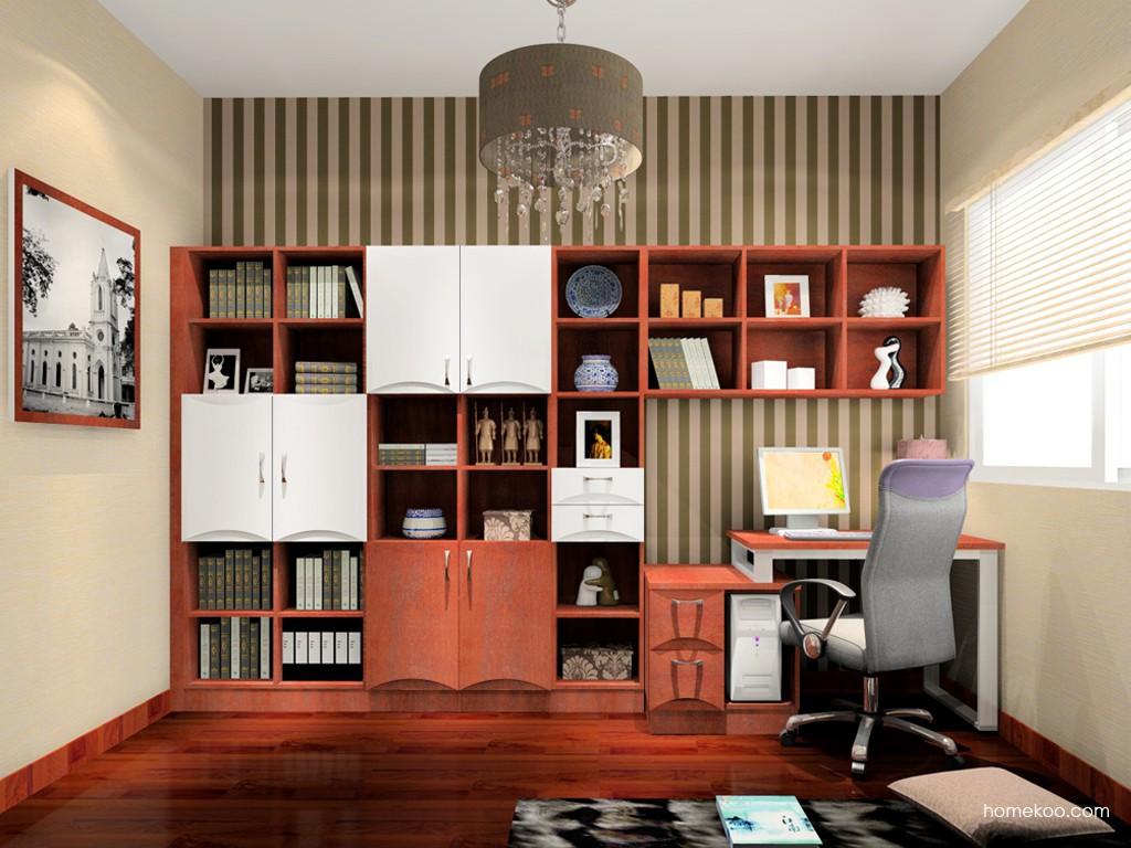 挪威月色书房家具C15136