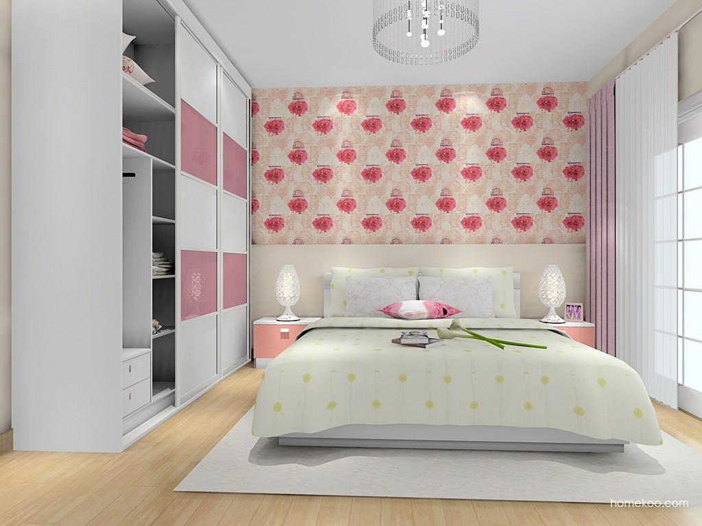 浪漫主义卧房家具A15218