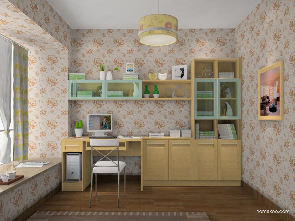 丹麦本色书房家具C15140