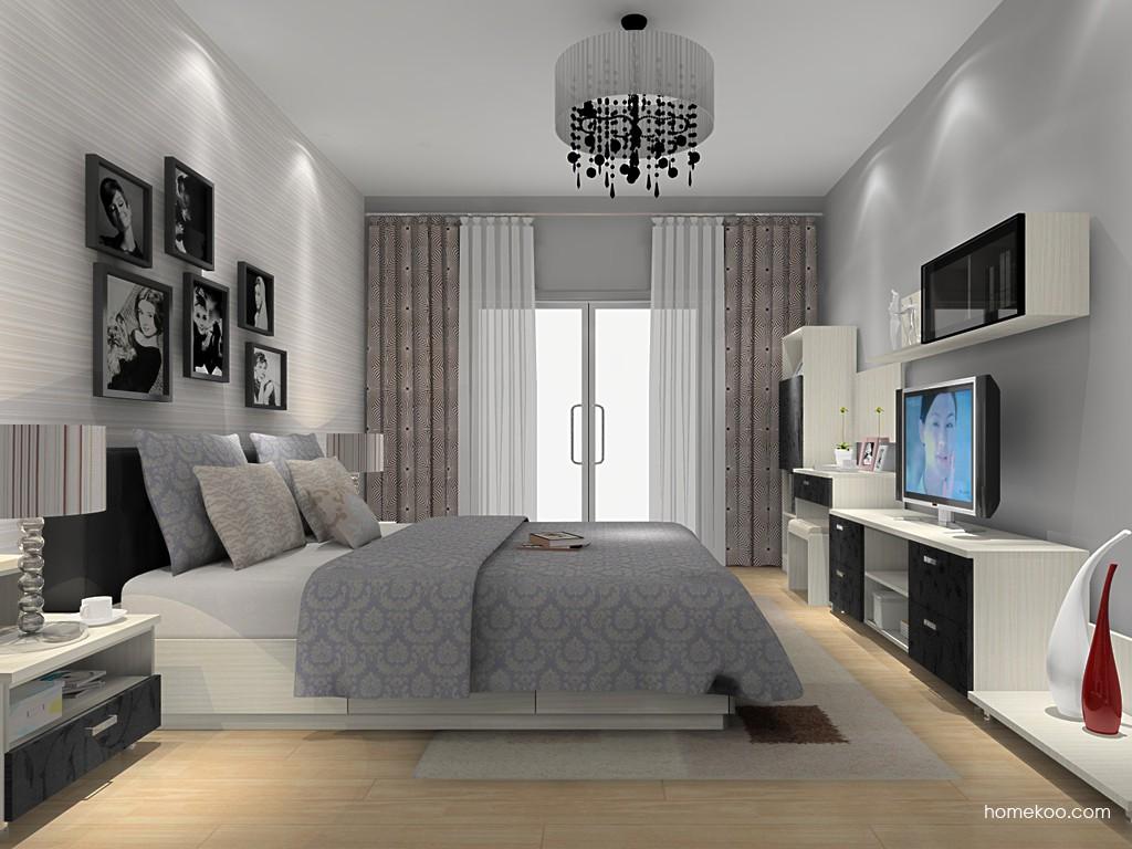 米兰剪影卧房家具A15206