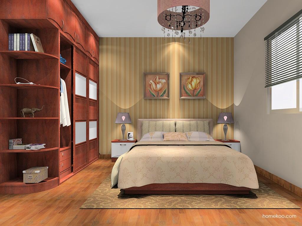 挪威月色卧房家具A15214