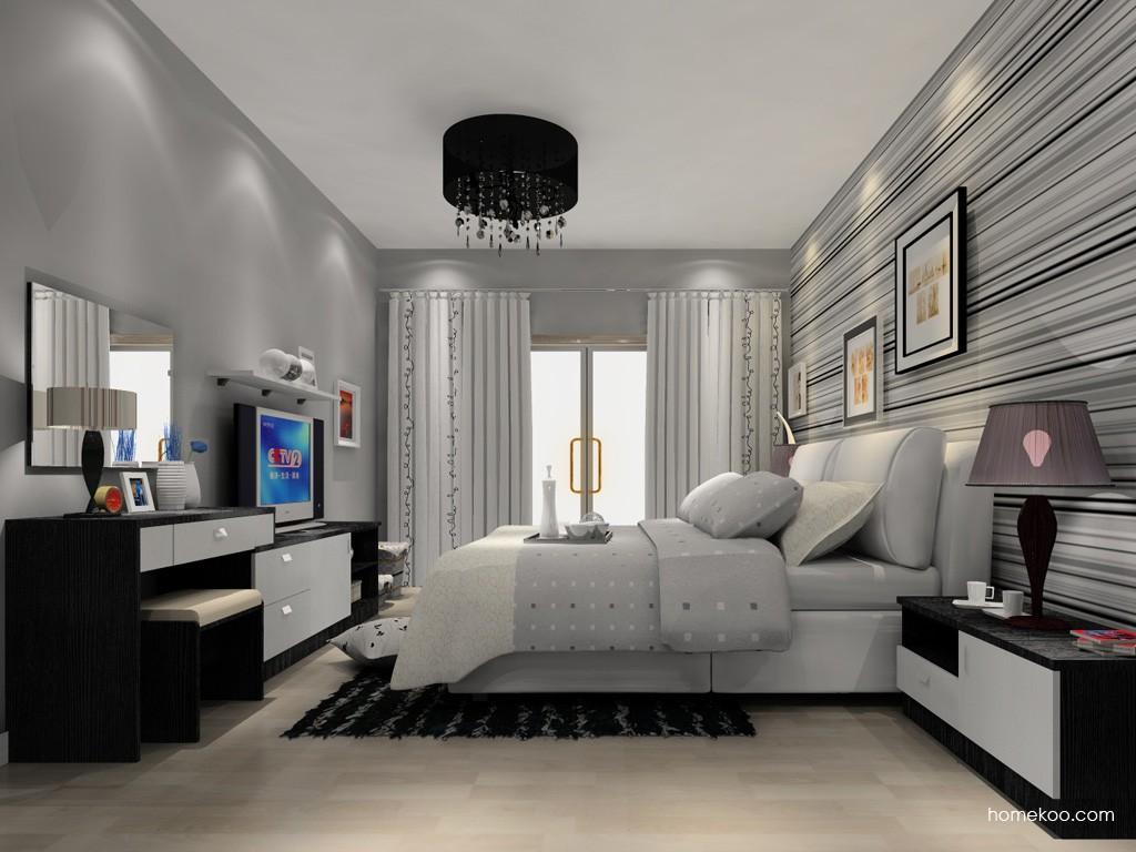 简约主义卧房家具A15220