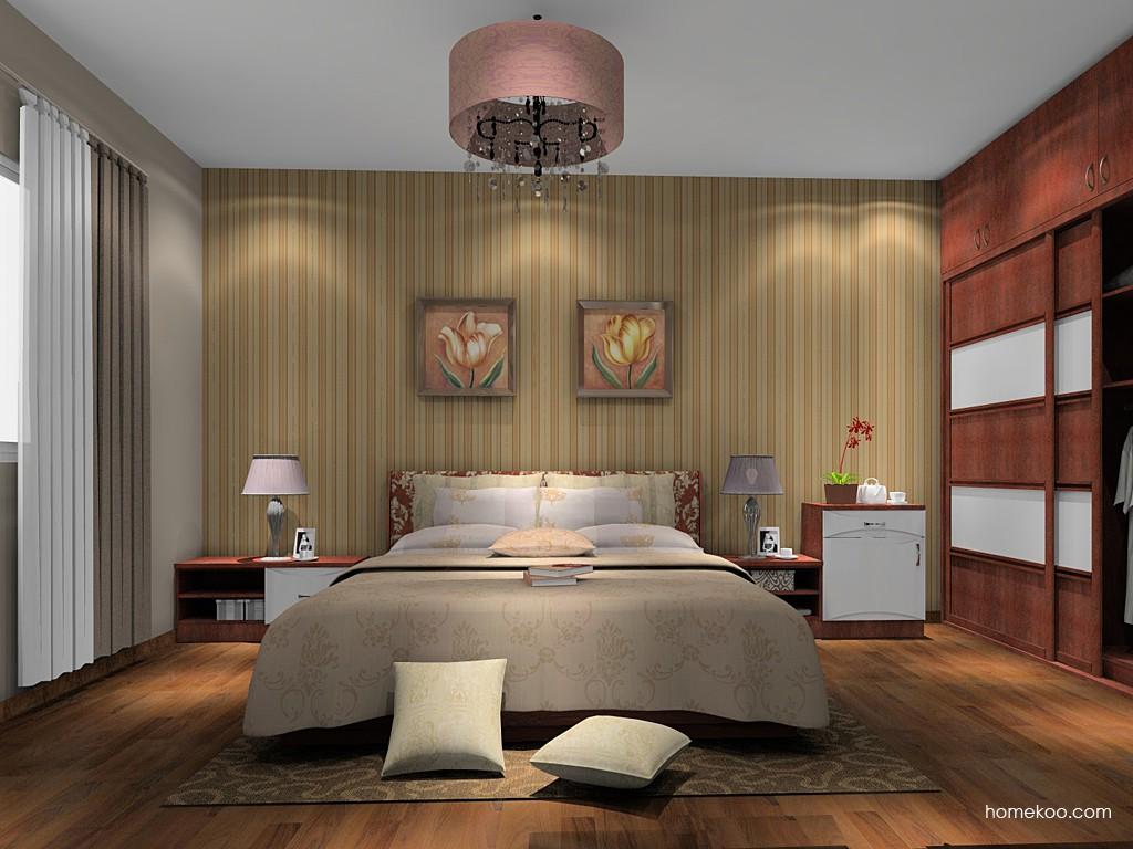 挪威月色卧房家具A15221