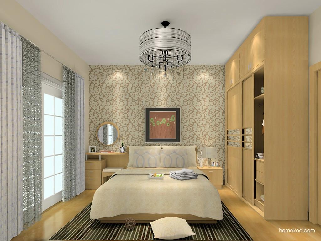 新实用主义卧房家具A15223