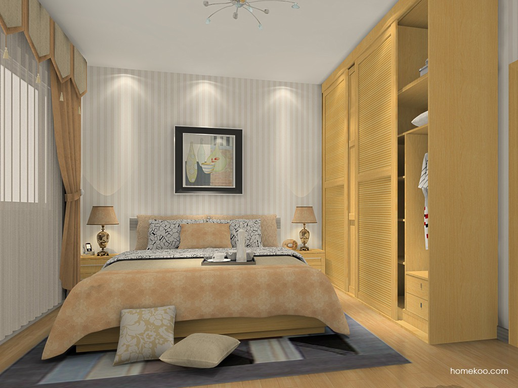 丹麦本色卧房家具A15228