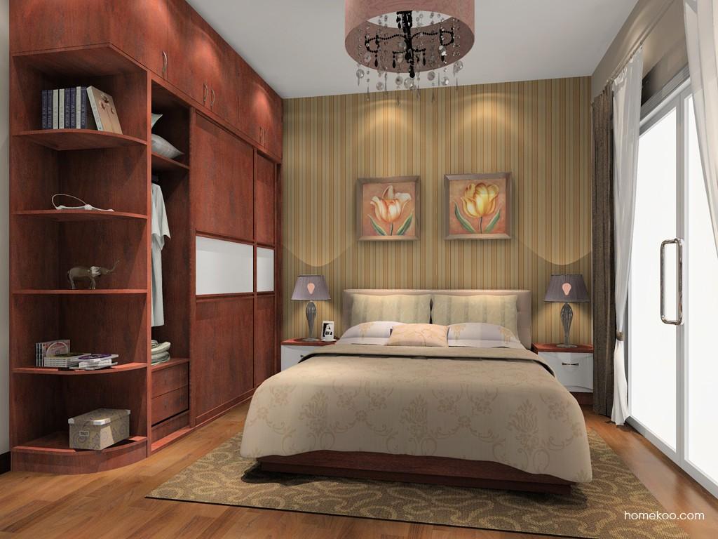 挪威月色卧房家具A15232