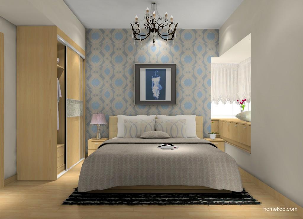 新实用主义卧房家具A15255