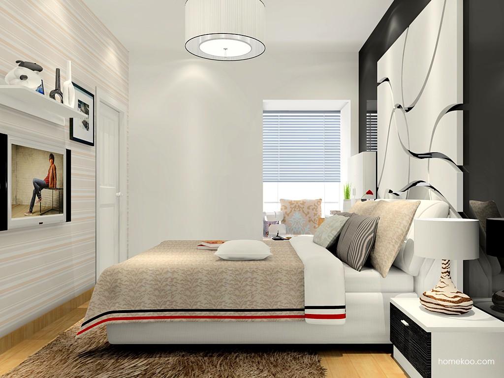 简约主义卧房家具A15280
