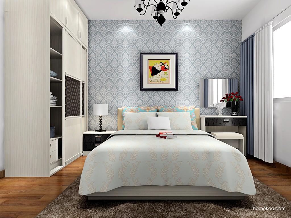 米兰剪影卧房家具A15308