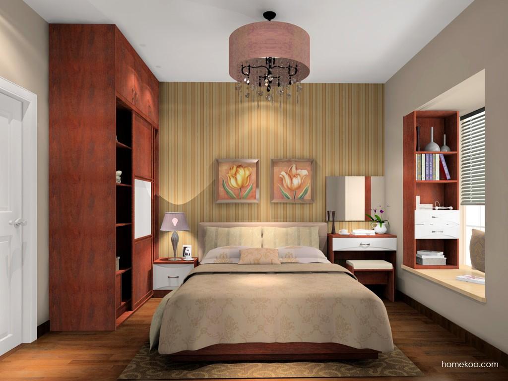 挪威月色卧房家具A15307