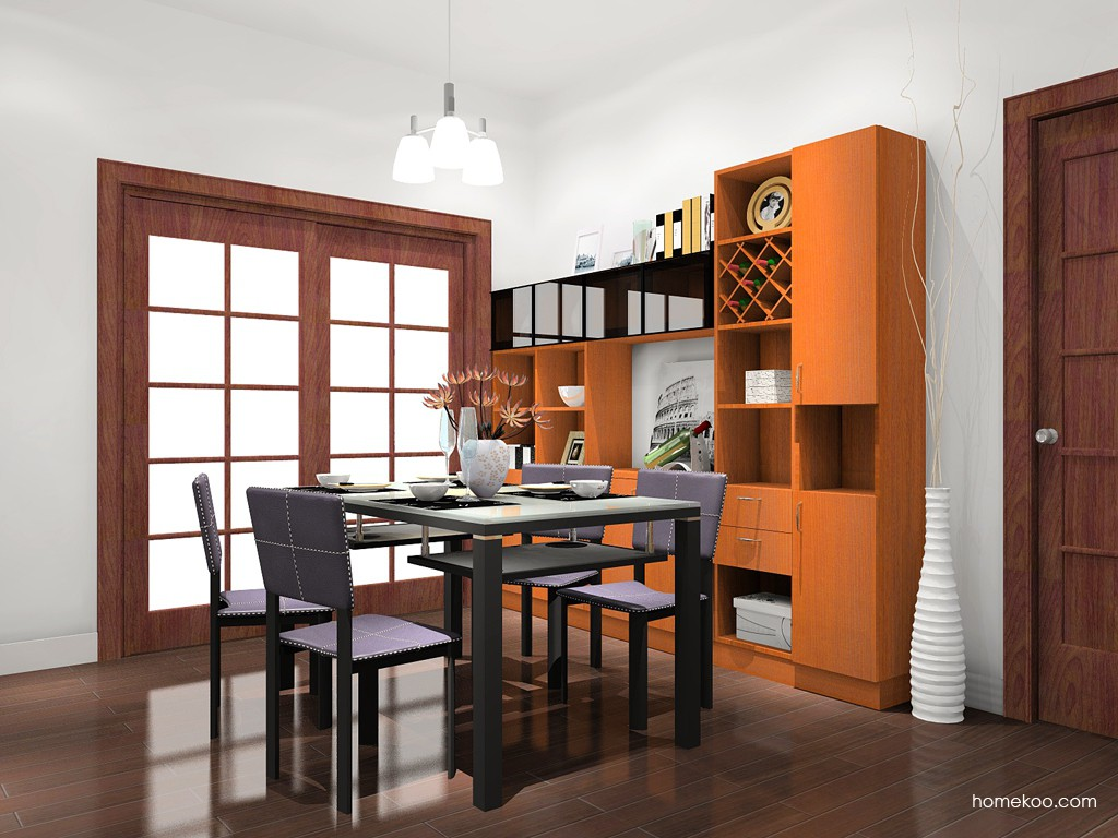 芭堤雅餐厅家具E11236