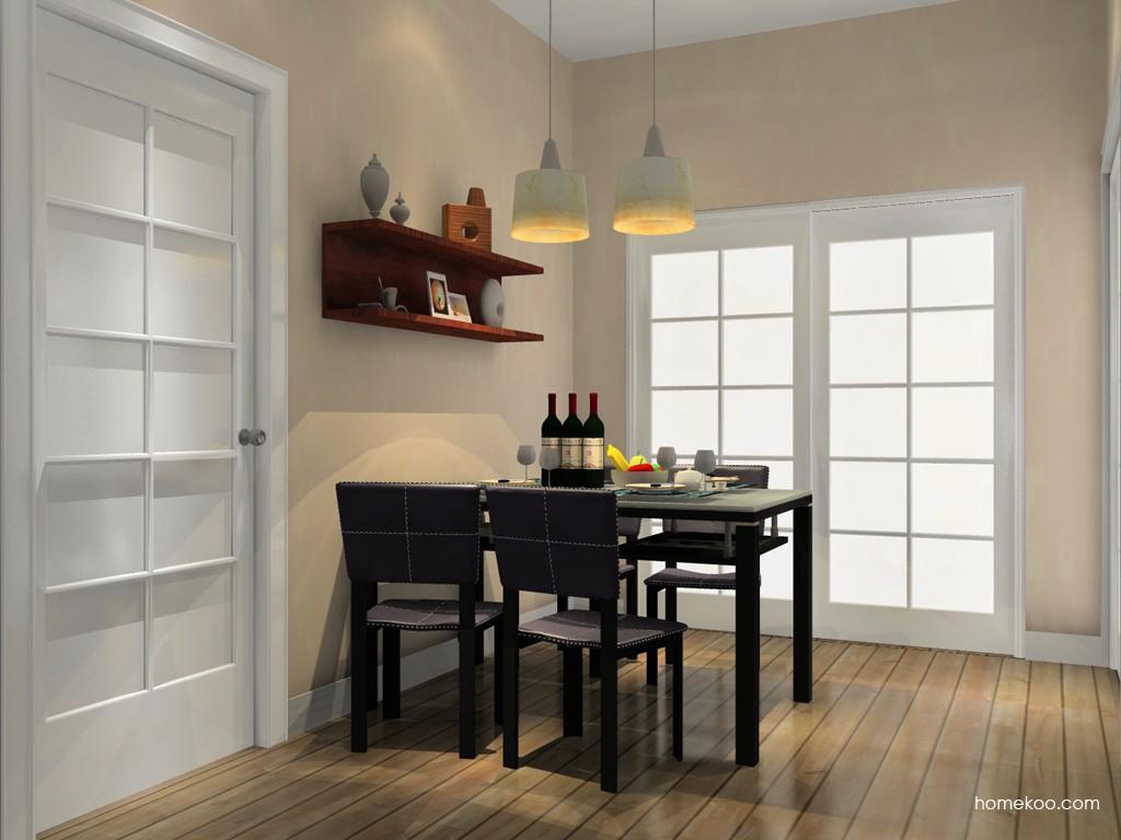 挪威月色餐厅家具E11249