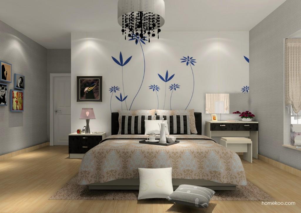 米兰剪影卧房家具A15348