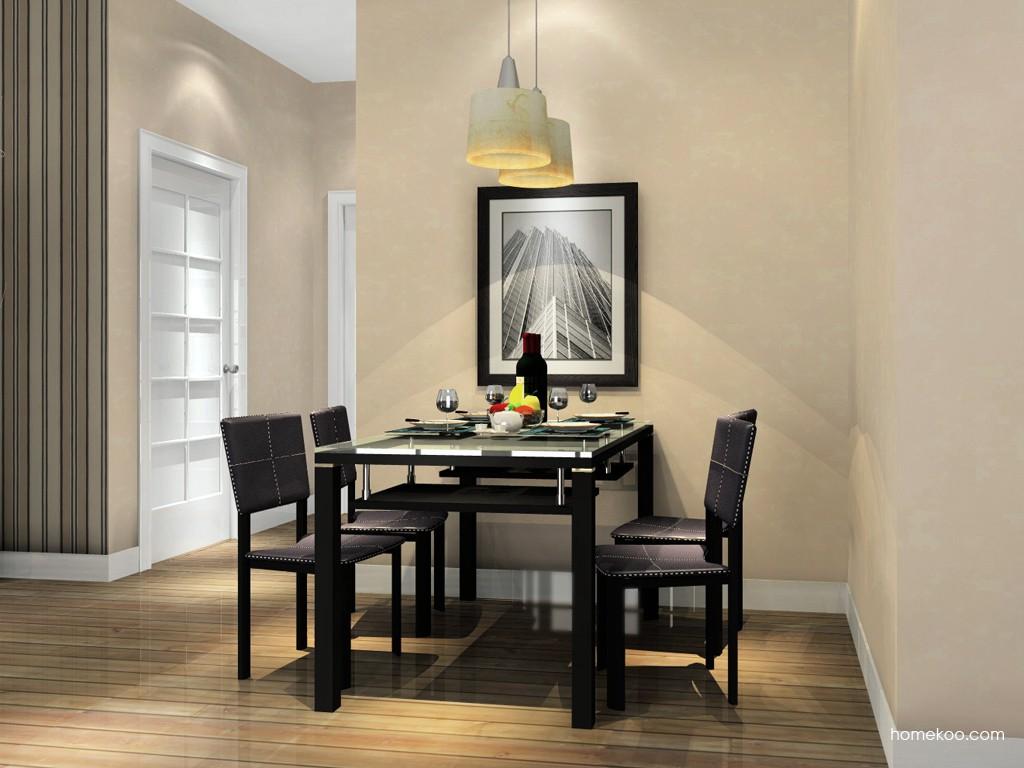 挪威月色餐厅家具E11260