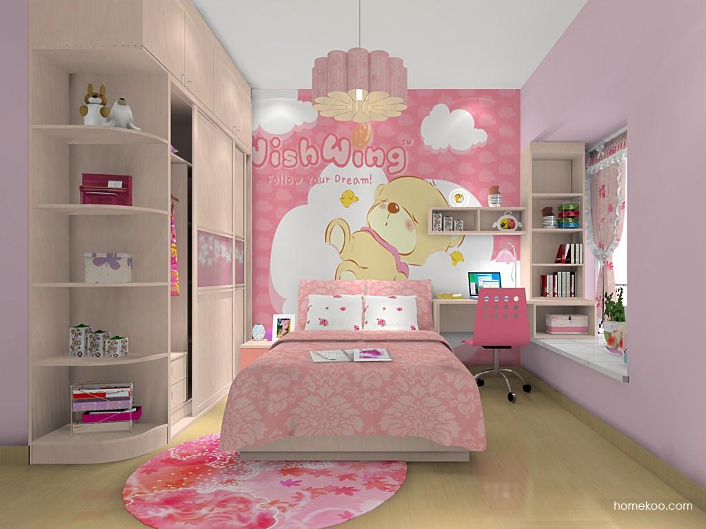 女孩的梦青少年房B15310