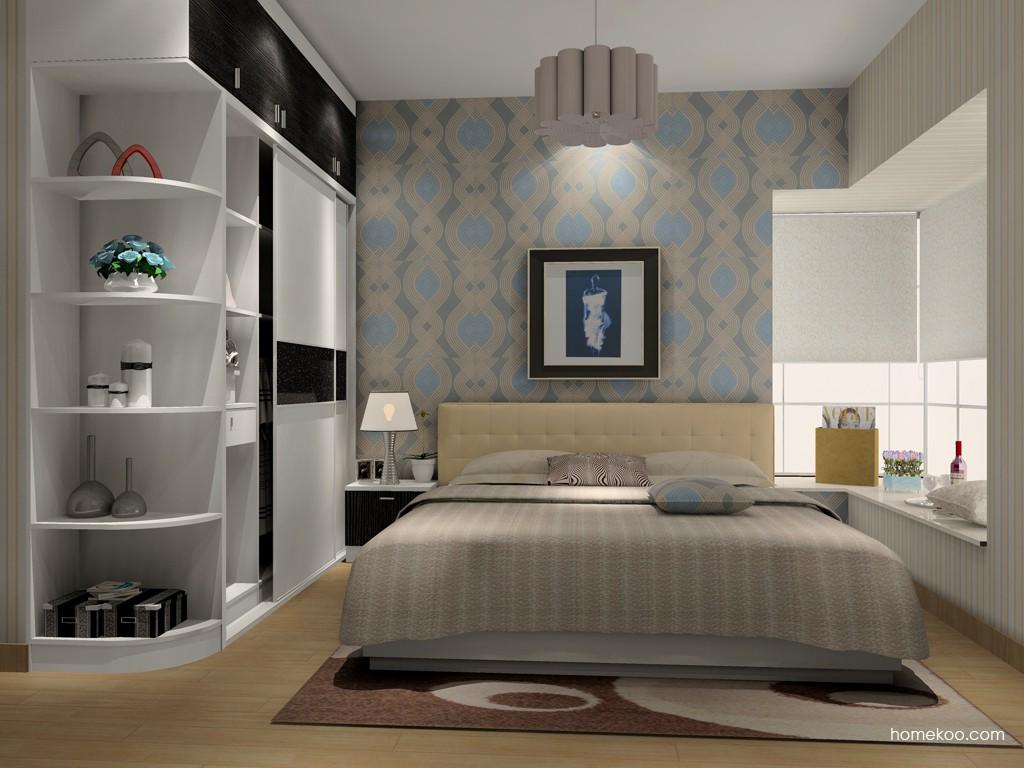 简约主义卧房家具A15352